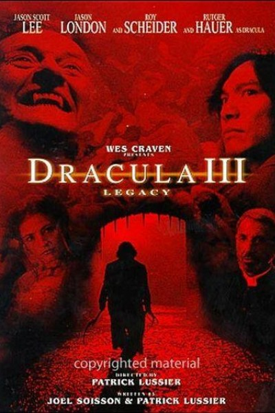 Caratula, cartel, poster o portada de Drácula 3: Legado