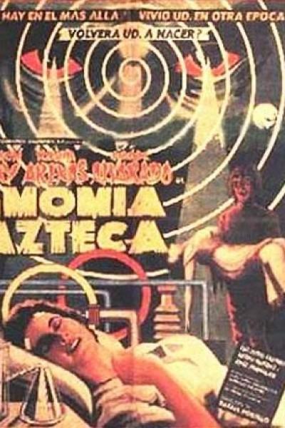 Caratula, cartel, poster o portada de La momia azteca