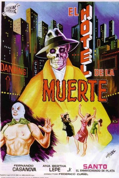 Caratula, cartel, poster o portada de Santo en el hotel de la muerte