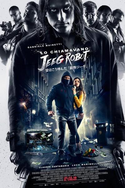 Caratula, cartel, poster o portada de Le llamaban Jeeg Robot