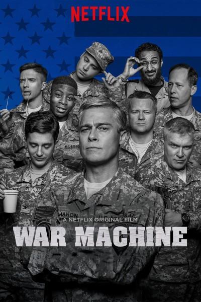 Caratula, cartel, poster o portada de Máquina de guerra