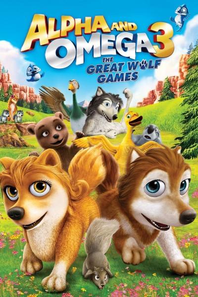 Caratula, cartel, poster o portada de Alpha y Omega: Los grandes juegos de Lobos
