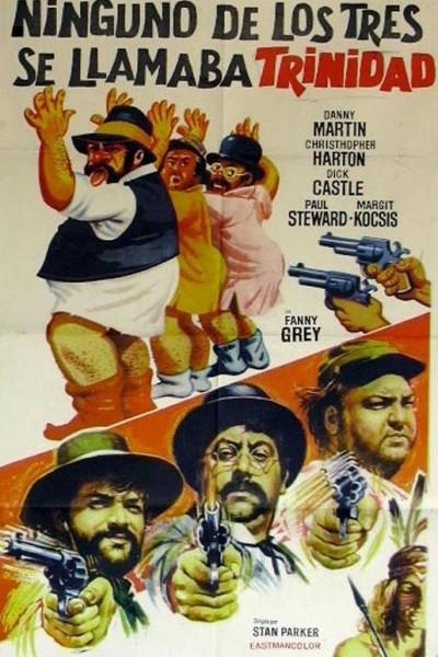 Caratula, cartel, poster o portada de Ninguno de los tres se llamaba Trinidad