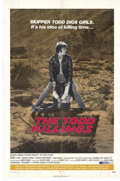 Caratula, cartel, poster o portada de Los asesinatos de Todd