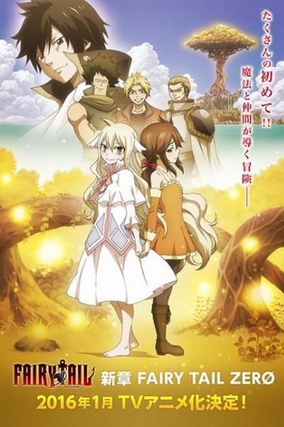 Caratula, cartel, poster o portada de Fairy Tail Zero