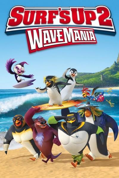 Caratula, cartel, poster o portada de Locos por el surf 2: Olamania