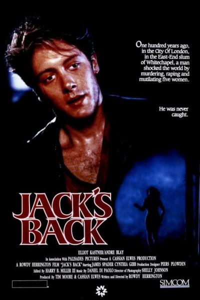 Caratula, cartel, poster o portada de El regreso de Jack el destripador