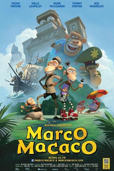 Caratula, cartel, poster o portada de Marco Macaco y los primates del Caribe