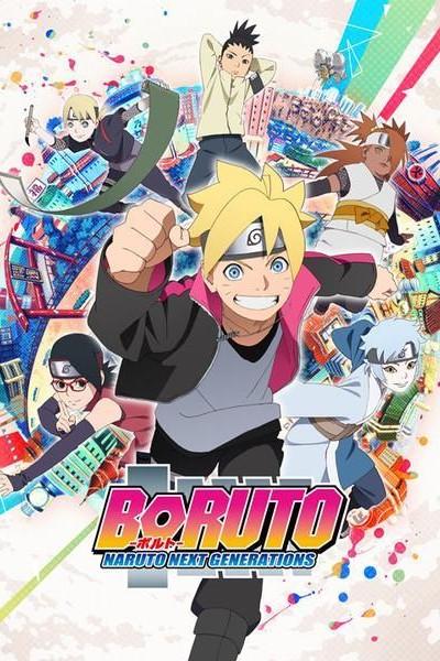 Caratula, cartel, poster o portada de Boruto: Naruto Next Generations