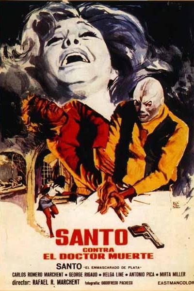 Caratula, cartel, poster o portada de Santo contra el doctor Muerte