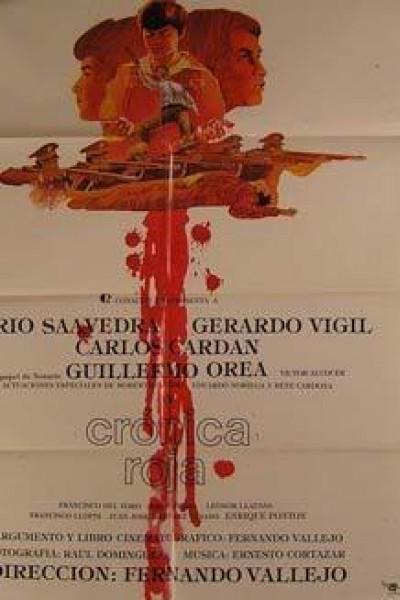 Caratula, cartel, poster o portada de Crónica roja