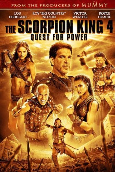 Caratula, cartel, poster o portada de El Rey Escorpión 4: La búsqueda del poder