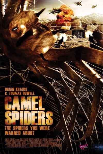 Caratula, cartel, poster o portada de Arañas del desierto