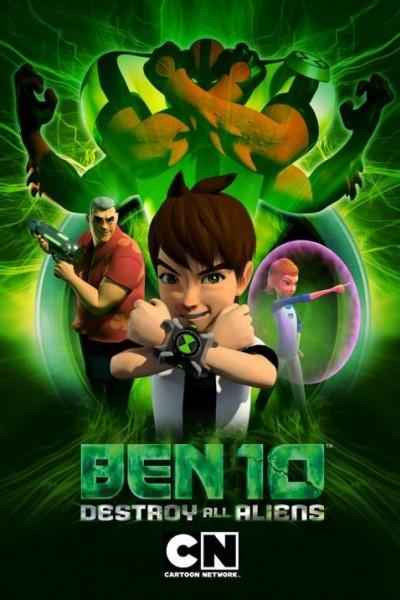 Caratula, cartel, poster o portada de Ben 10: La destrucción de los aliens