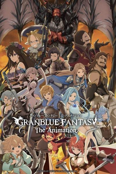 Caratula, cartel, poster o portada de Granblue Fantasy: The Animation