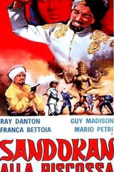 Caratula, cartel, poster o portada de La venganza de Sandokan