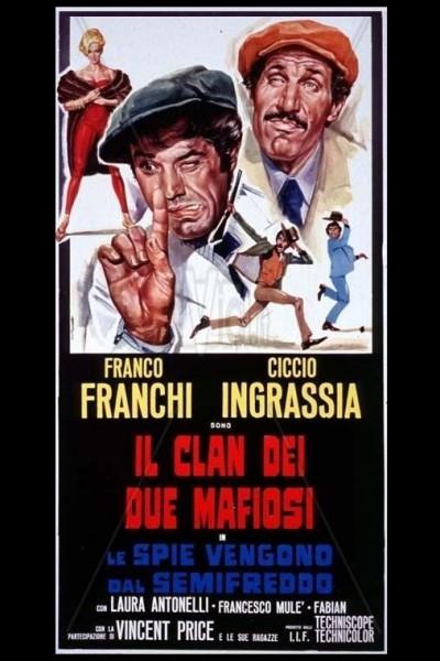 Caratula, cartel, poster o portada de Le spie vengono dal semifreddo