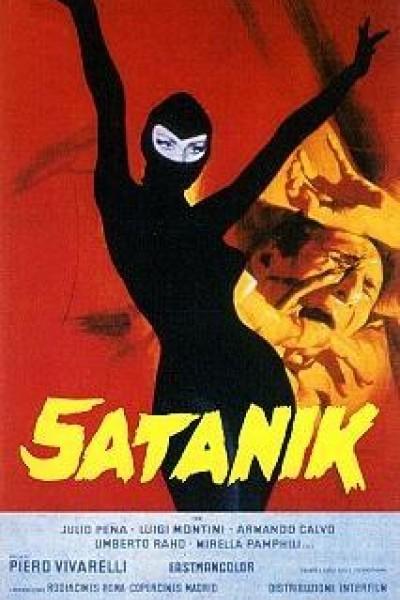 Caratula, cartel, poster o portada de Satanik