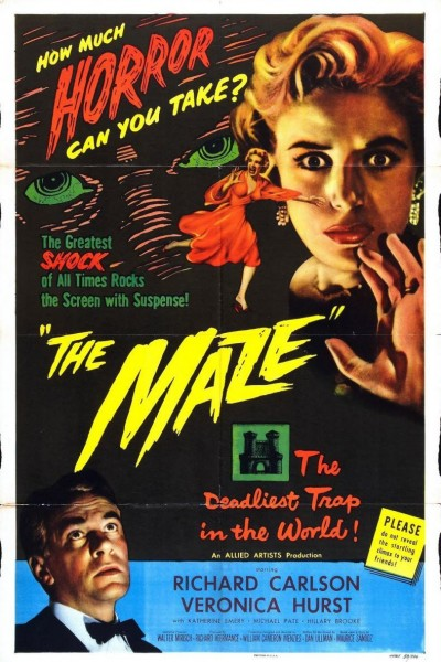 Caratula, cartel, poster o portada de The Maze (El laberinto)
