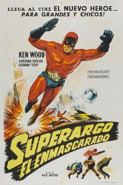 Caratula, cartel, poster o portada de Superargo, el hombre enmascarado