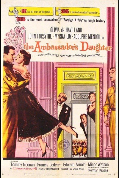 Caratula, cartel, poster o portada de La hija del embajador
