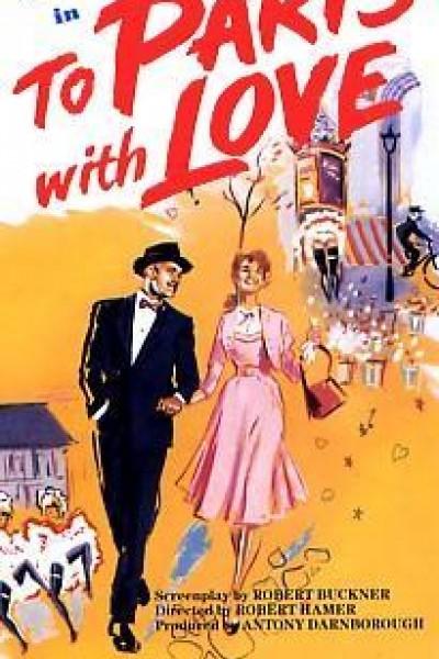 Caratula, cartel, poster o portada de A París con el amor
