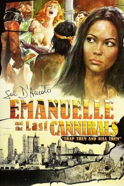 Caratula, cartel, poster o portada de Emanuelle y los últimos caníbales