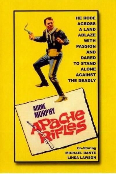 Caratula, cartel, poster o portada de Rifles apaches