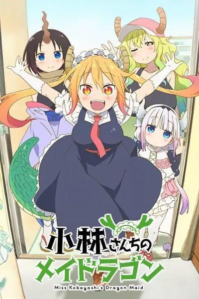 Caratula, cartel, poster o portada de Miss Kobayashi\'s Dragon Maid