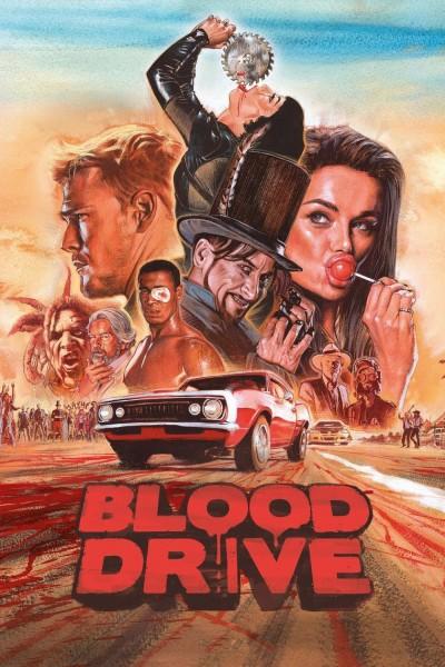 Caratula, cartel, poster o portada de Blood Drive