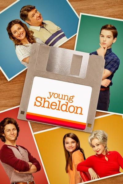 Caratula, cartel, poster o portada de El joven Sheldon