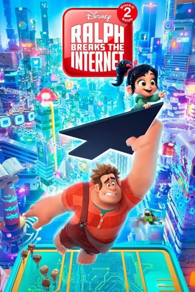 Caratula, cartel, poster o portada de Ralph rompe Internet