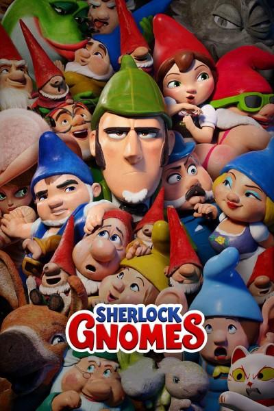 Caratula, cartel, poster o portada de Sherlock Gnomes