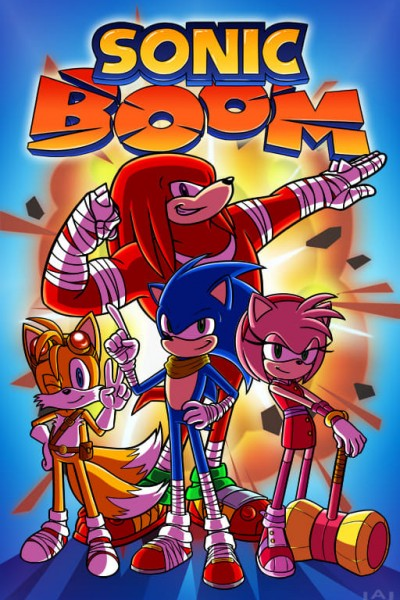 Caratula, cartel, poster o portada de Sonic Boom
