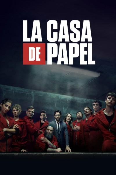Caratula, cartel, poster o portada de La casa de papel