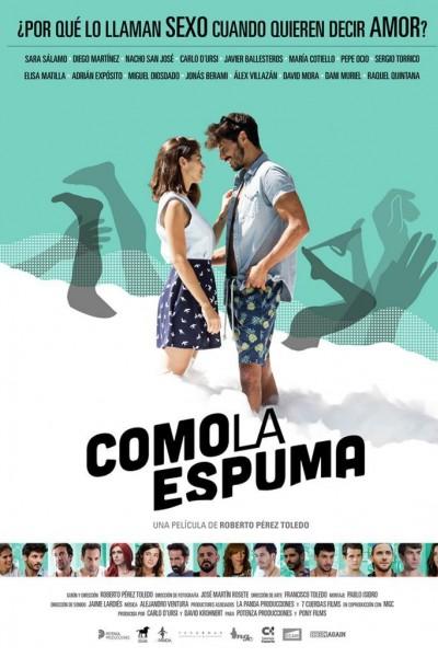 Caratula, cartel, poster o portada de Como la espuma