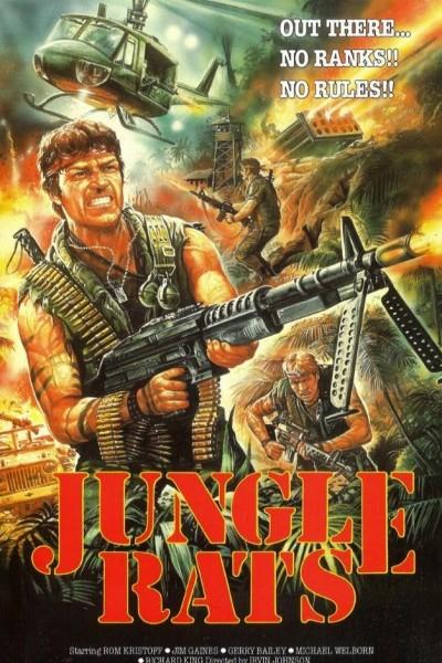 Caratula, cartel, poster o portada de Jungle Rats