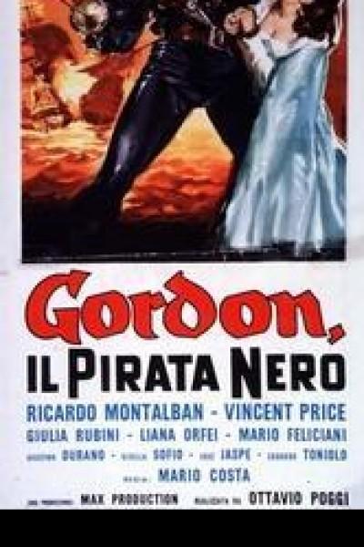 Caratula, cartel, poster o portada de El pirata negro