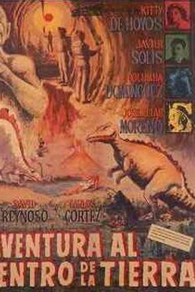 Caratula, cartel, poster o portada de Aventura al centro de la tierra