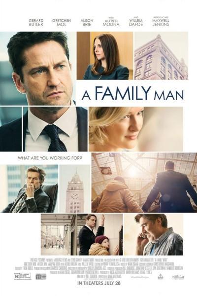 Caratula, cartel, poster o portada de Un hombre de familia
