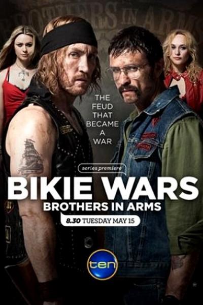 Caratula, cartel, poster o portada de Bikie Wars: Brothers in Arms