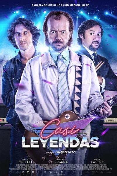 Caratula, cartel, poster o portada de Casi leyendas