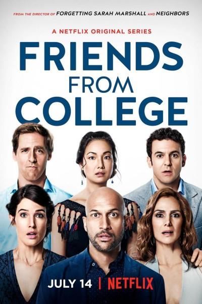 Caratula, cartel, poster o portada de Amigos de la universidad