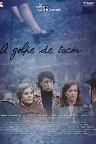 Caratula, cartel, poster o portada de A golpe de tacón