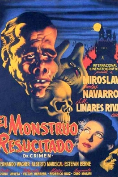 Caratula, cartel, poster o portada de El monstruo resucitado