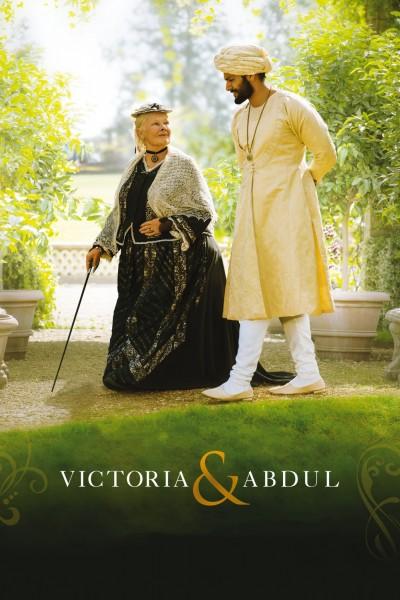 Caratula, cartel, poster o portada de La reina Victoria y Abdul
