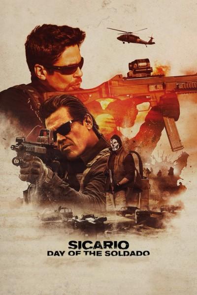 Caratula, cartel, poster o portada de Sicario: El día del soldado