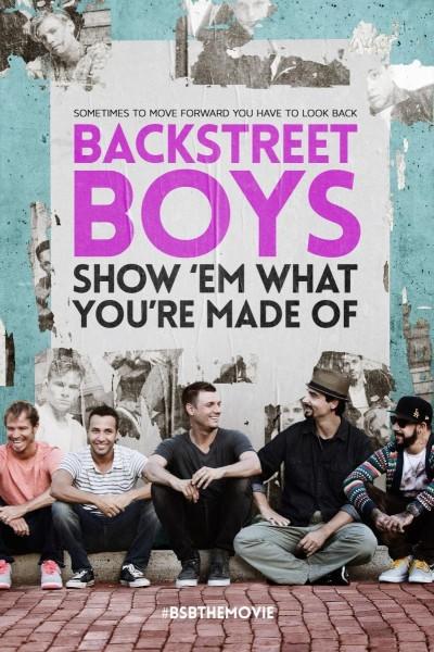 Caratula, cartel, poster o portada de Backstreet Boys: Show \'Em What You\'re Made Of