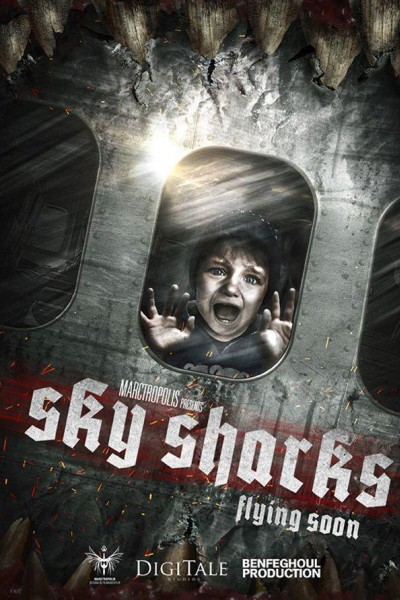 Caratula, cartel, poster o portada de Sky Sharks