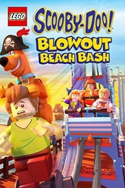 Caratula, cartel, poster o portada de Lego Scooby-Doo! Fiesta en la playa de Blowout